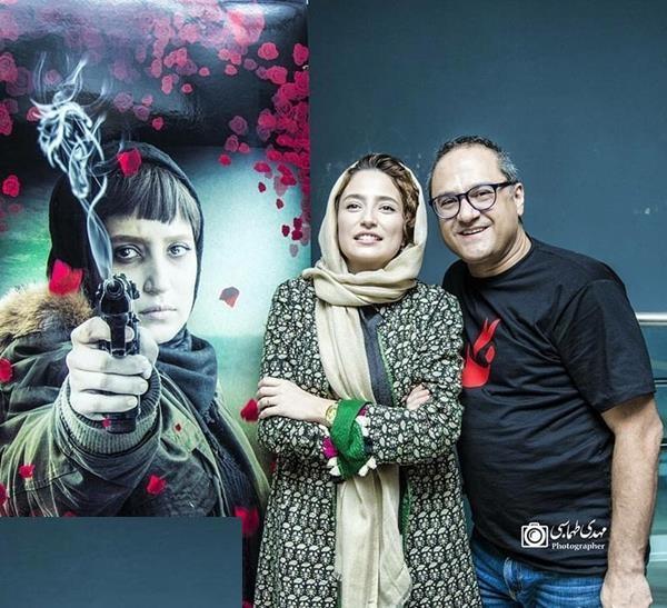 عکس های رامبد جوان و همسرش در اکران فیلم نگار