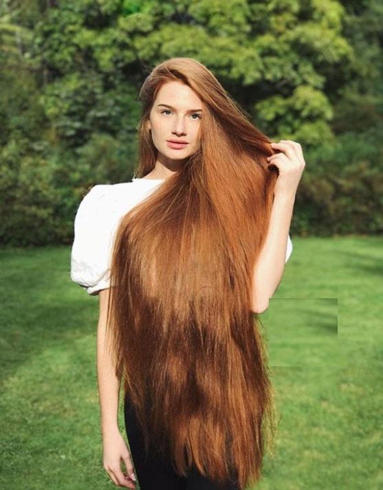 دختری با بلندترین مو جهان بعد از یک دوره طاسی