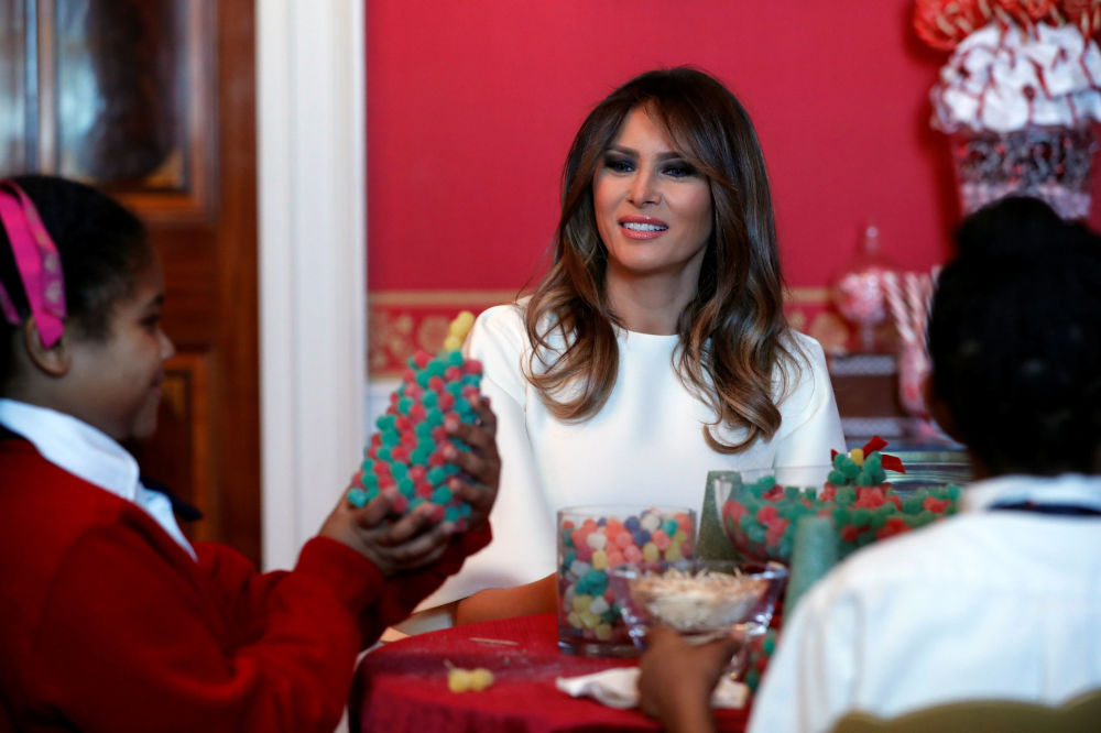 کریسمس 2018 در کاخ سفید