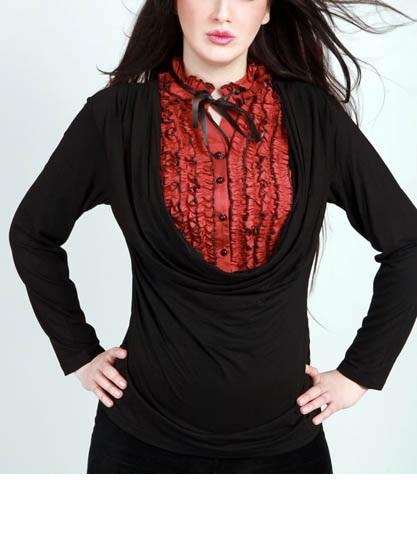 گالری مدل لباس مجلسی 2018/ شومیز مجلسی حریر