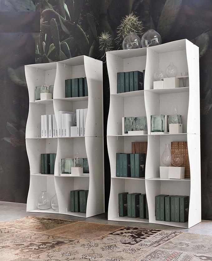 دکوراسیون منزل مدل کتابخانه و استند