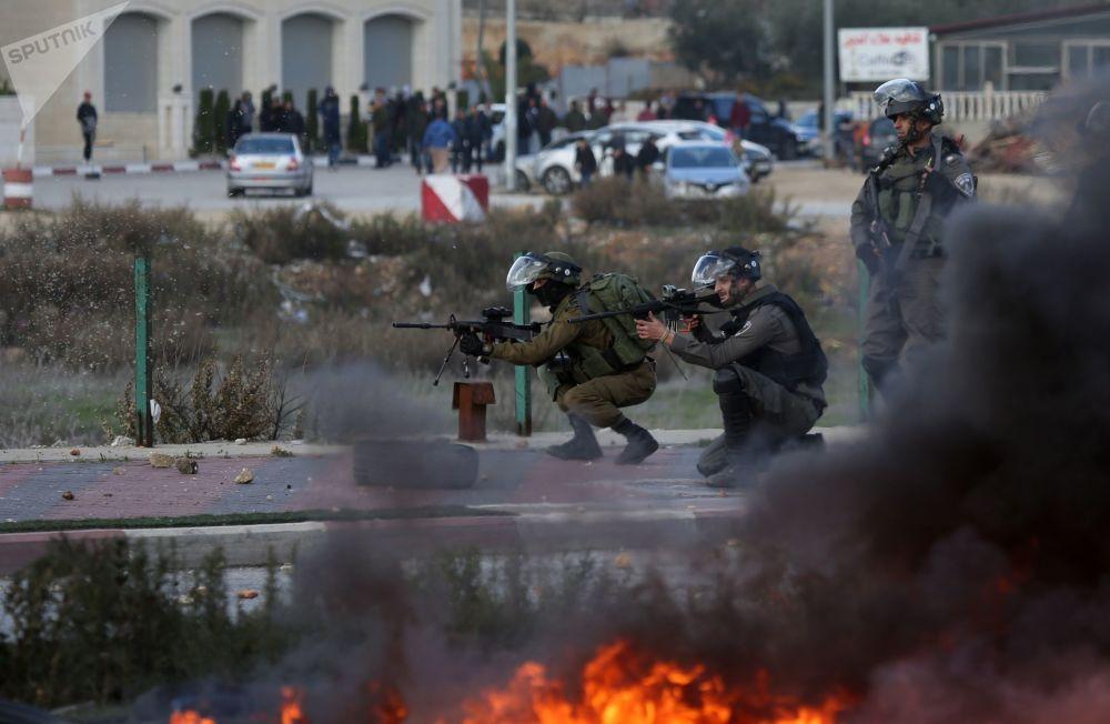 نا آرامی ها در فلسطین اشغالی