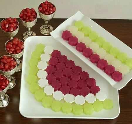 انواع تزیین دسر ژله جدید خلاقانه / تزیین ژله با میوه