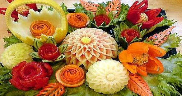 تزیین میوه ی شب یلدا / تزیین هندوانه شب چله برای عروس