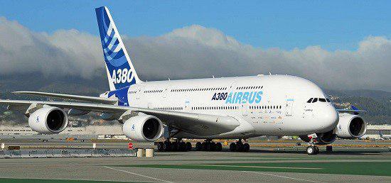 بزرگترین هواپیمای جهان ایرباس 380