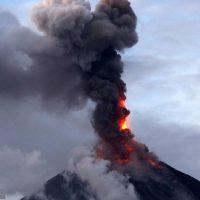 گزارش تصویری از فوران آتشفشان در فیلیپین