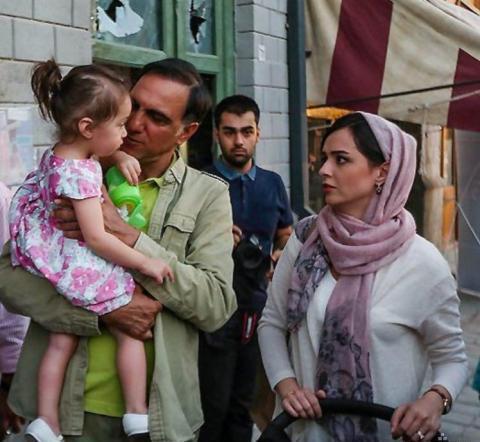 جدیدترین عکس ترانه علیدوستی و دخترش حنا