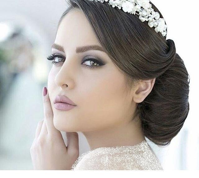 گالری مدل آرایش عروس 2018 / گریم صورت / شینیون عروس