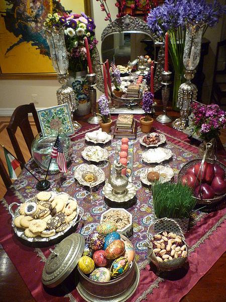 پیشنهاد های جدید برای تزیین ظروف سفره هفت سین