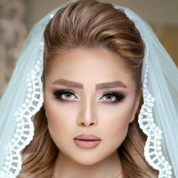 گالری مدل آرایش عروس ۲۰۱۸ / گریم صورت / شینیون عروس
