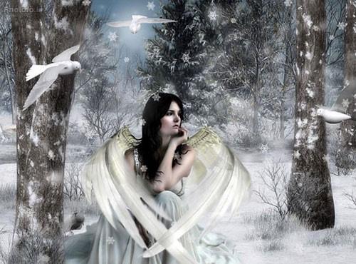 عکس پروفایل زمستونی عاشقانه دخترونه/ عکس پروفایل دخترونه در برف