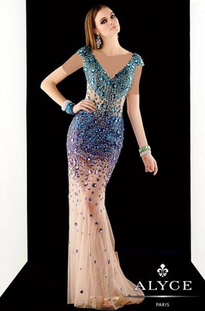شیک ترین مدل های لباس نامزدی بلند تابستان 97