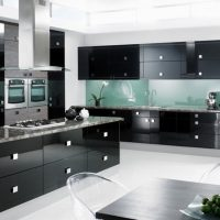 جدیدترین مدل های کابینت آشپزخانه هایگلاس / ام دی اف / چوبی