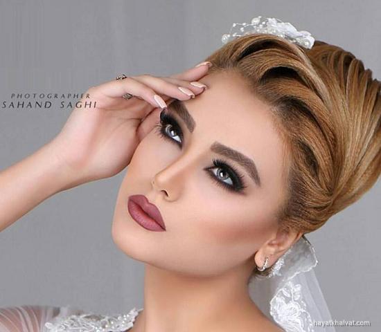 خاص ترین مدل آرایش عروس تابستانه 97