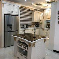 جدیدترین سری مدل های کابینت آشپزخانه ممبران. هایگلاس. ام دی اف. فلزی