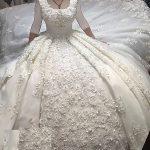 سری جدید مدل لباس عروس 2018 دنباله دار خارجی
