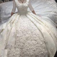 سری جدید مدل لباس عروس ۲۰۱۸ دنباله دار خارجی