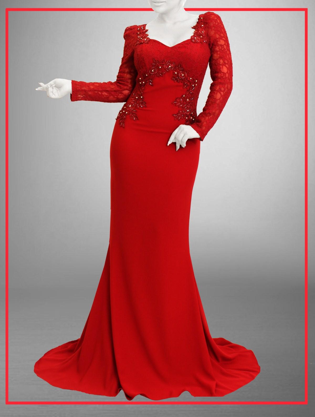 گالری مدل لباس مجلسی 2018 بلند زنانه