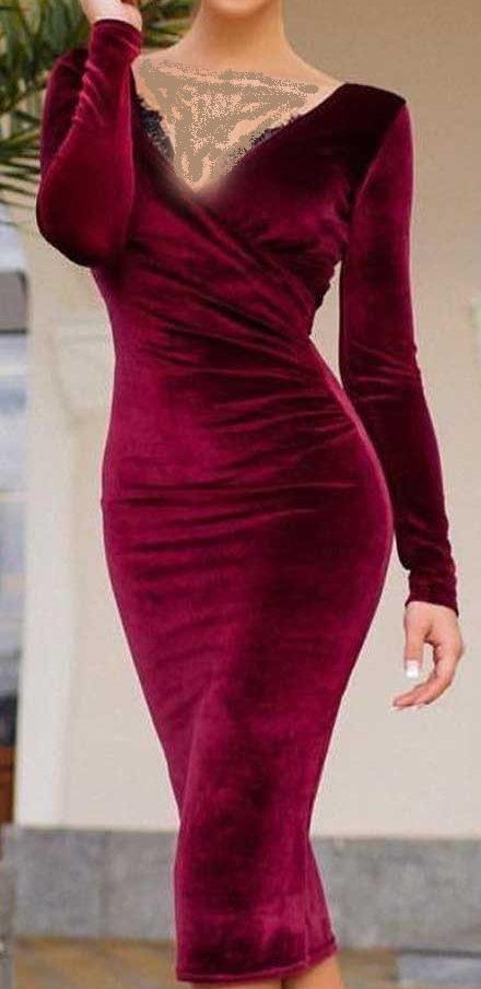 عکس مدل لباس مجلسی 2018 زنانه حریر