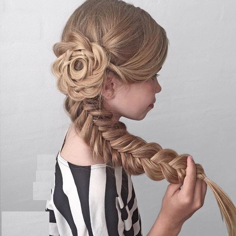 مدل بافت مو دخترانه 2018