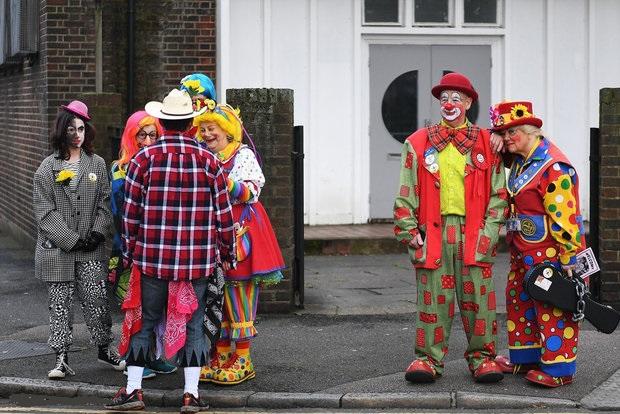 رژه دلقک ها در لندن