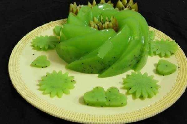 تزیین ژله جدید با میوه
