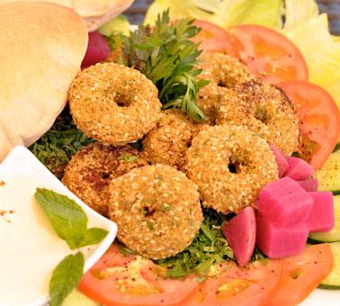 طرز تهیه ی فلافل لبنانی + خواص غذایی فلافل