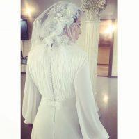 خبر ازدواج لیلا اوتادی + عکس لباس عروس لیلا اوتادی