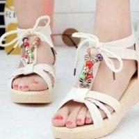 جدیدترین مدل های کفش تابستانی دخترانه / مدل کفش لژدار مجلسی