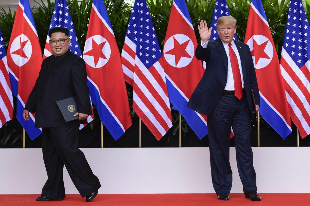 دیدار ترامپ و کیم جونگ اون