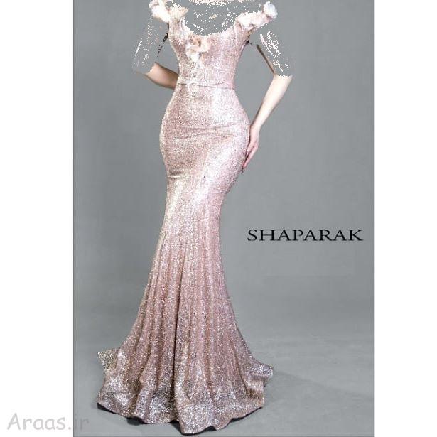 پیراهن مدل ماهی کرپ جدیدترین گالری مدل لباس مجلسی بلند / مدل لباس نامزدی شیک ...