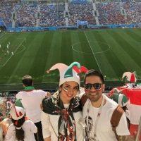 عکس های هنرمندان ایرانی در جام جهانی ۲۰۱۸