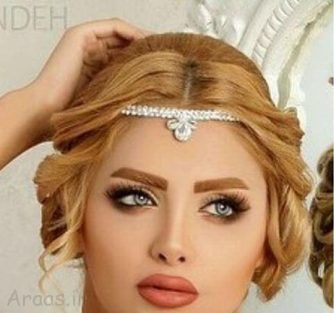 مدل سربند عروس