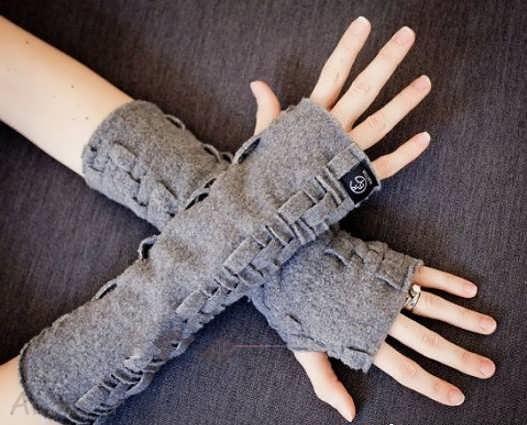 ساق دست بافتنی