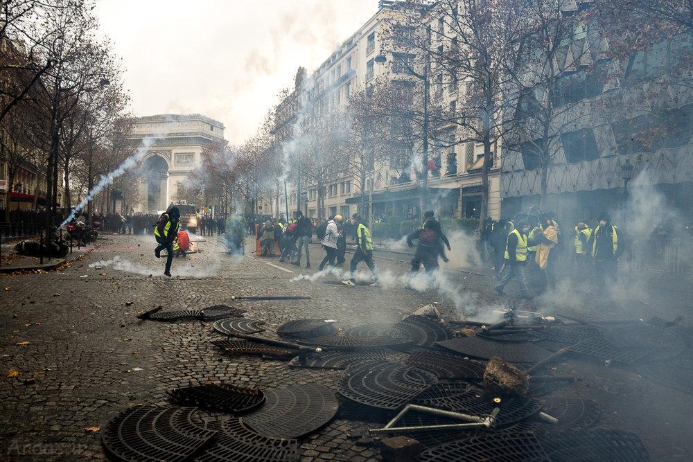 اعتراضات جلیقه زردها در فرانسه