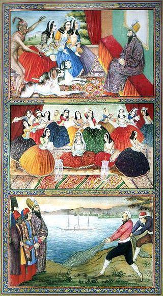 نقاشی صنیعالملک