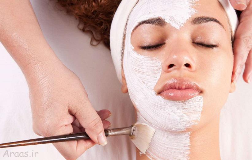 درمان آکنه با ماسک خانگی