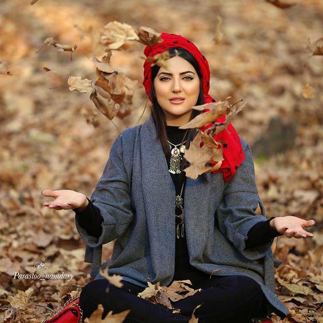 عکس های زیبای هلیا امامی بازیگر نقش مهربانو در ازیادها رفته