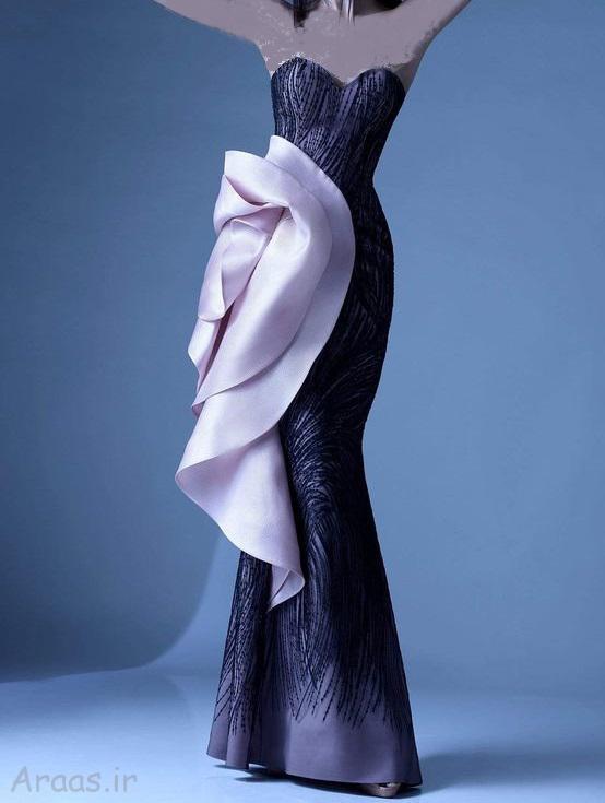 مدل پیراهن مجلسی بلند