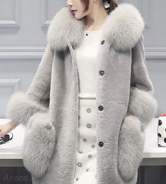 مدل پالتو خزدار فانتزی و شیک زنانه و دخترانه
