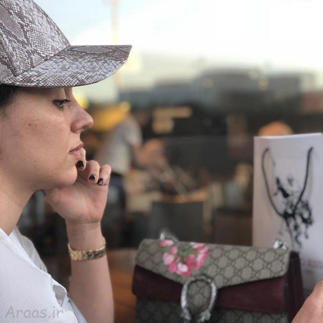 عکس لاله مرزبان بازیگر نقش نازگل در ستایش ۳