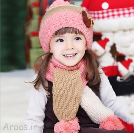 جدیدترین مدل های کلاه بافت دخترانه فانتزی و زیبا