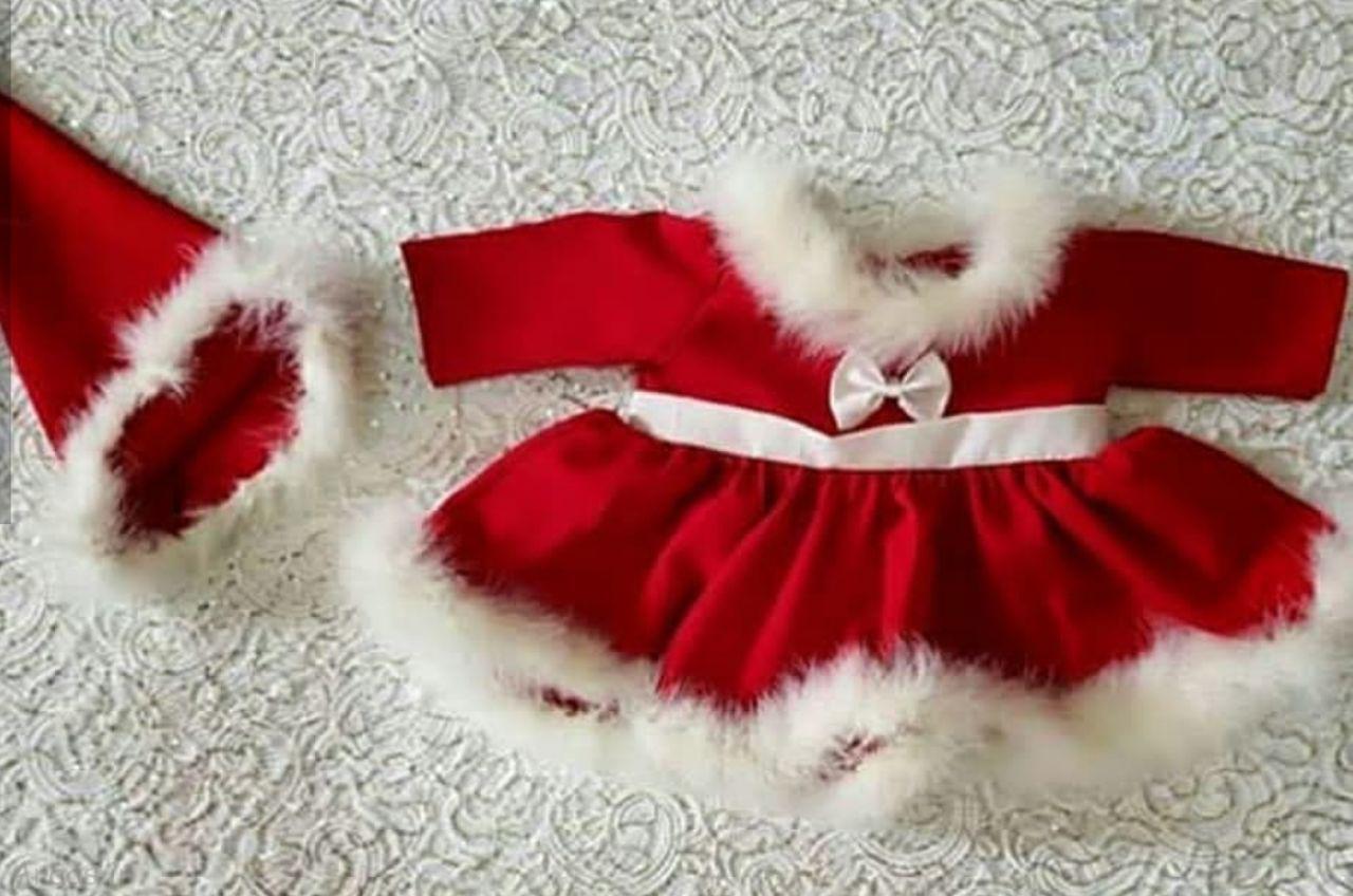 مدل لباس کریسمس دختربچه اینستاگرامی