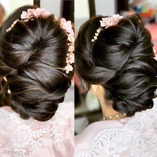 جذاب ترین مدل شینیون برای موهای کوتاه و بلند
