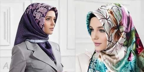 بستن روسری و شال