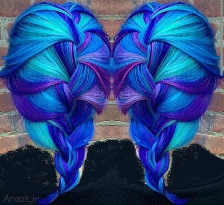 رنگ مو ۹۹ / آموزش ترکیب مواد