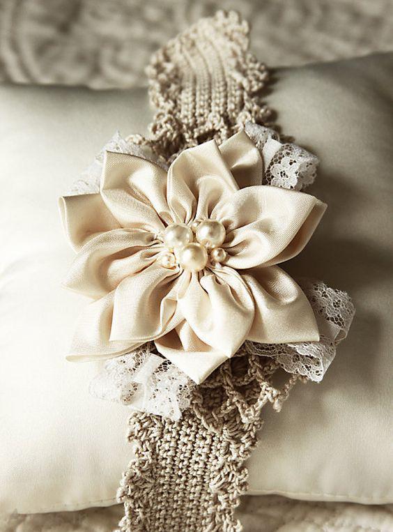 گل سر دخترانه