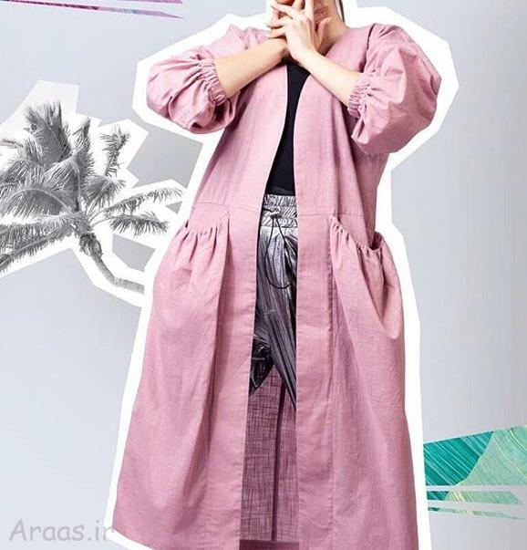 مدل مانتو بهاره ۹۹ / مانتو جلوباز تابستانی