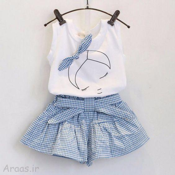 مدل لباس دختر بچه تابستانی / لباس دخترونه ۹۹ شیک