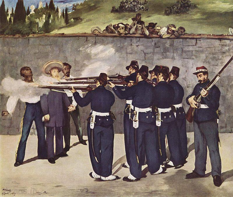 اعدام ماکسیمیلیان